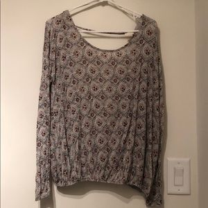 Free People knit with medallion pattern